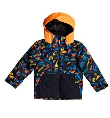 Quiksilver Little Mission Kids Jacket - True Black Ski Fun