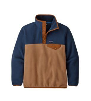 Patagonia Lightweight Synchilla Snap-T Kids Pullover - Beech Brown