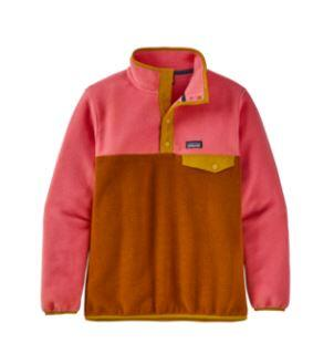 Patagonia Lightweight Synchilla Snap-T Kids Pullover - Wood Brown