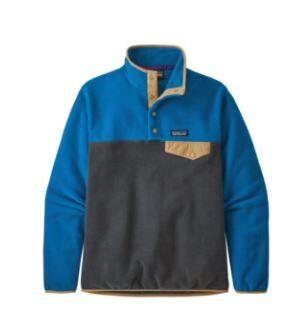 Patagonia Lightweight Synchilla Snap-T Wmns Pullover - Smoulder Blue/ Alpine Blue