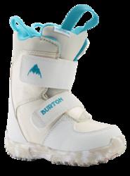 Burton Mini Grom Kids Snowboard Boot - White