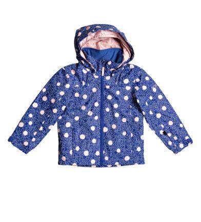 Roxy Mini Jetty Kids Jacket - Mazarine Blue Tasty