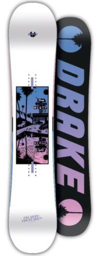 Drake Misty Wmns Snowboard - White