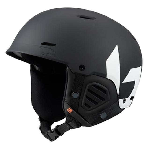 Bolle Mute Helmet - Matte Black White