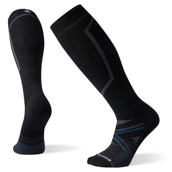 Smartwool PHD Medium Ski Sock - Black