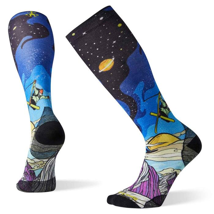 Smartwool PHD Ultra Light Benchetler Print Ski Sock