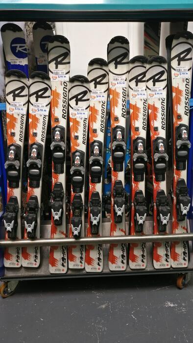 Rossignol Ex Rental - Radical J Kids Ski + Binding