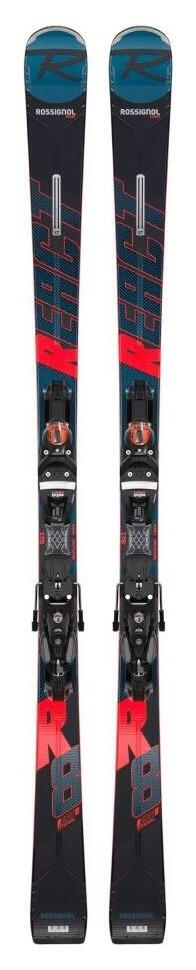 Rossignol React R8 Ti Ski + SPX Konect GW Binding