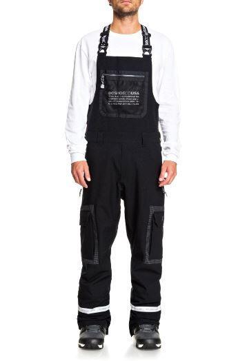 DC Revival Bib Pant - Black