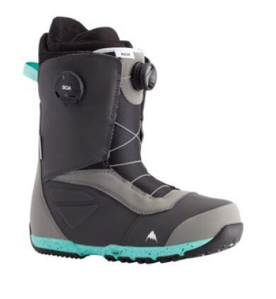 Burton Ruler Boa® Snowboard Boot - Gray/Teal