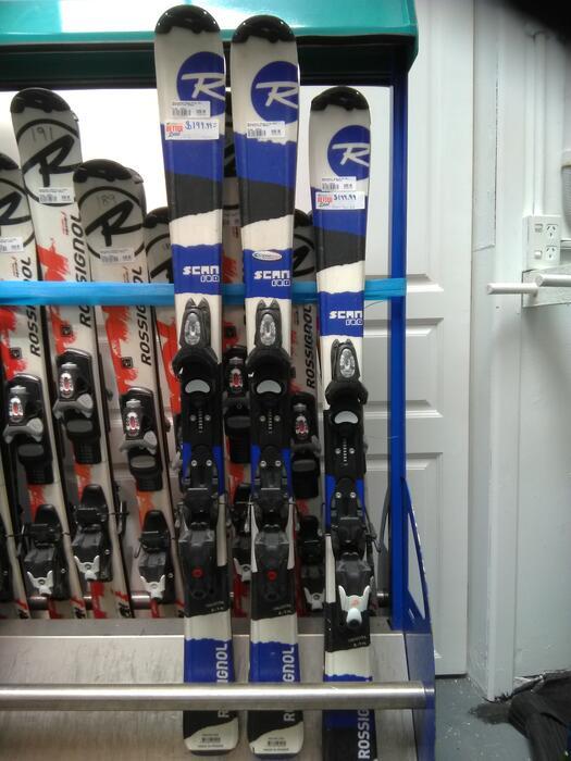 Rossignol Ex Rental - Scan Kids Ski + Xelium Binding