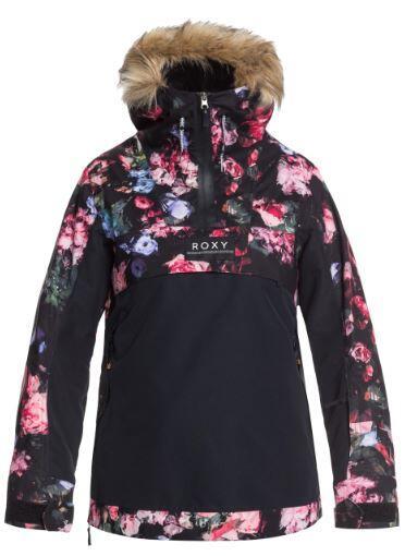 Roxy Shelter Wmns Jacket - True Black Blooming