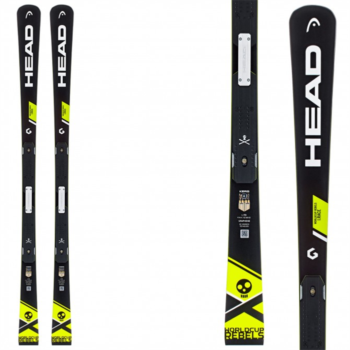 Head WC Rebels iRace Ski + FF EVO 11 Binding
