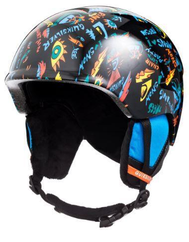 Quiksilver Slush Kids Helmet - True Black Ski Fun