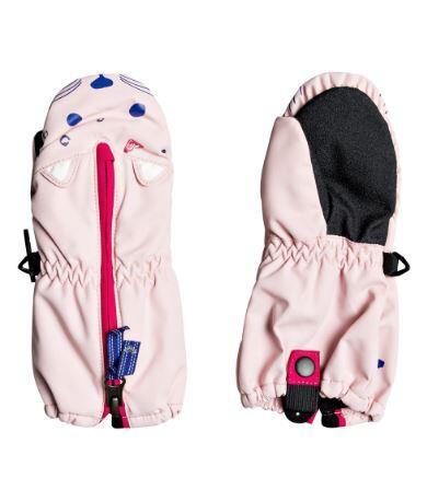 Roxy Snow S Up Kids Mitt - Powder Pink