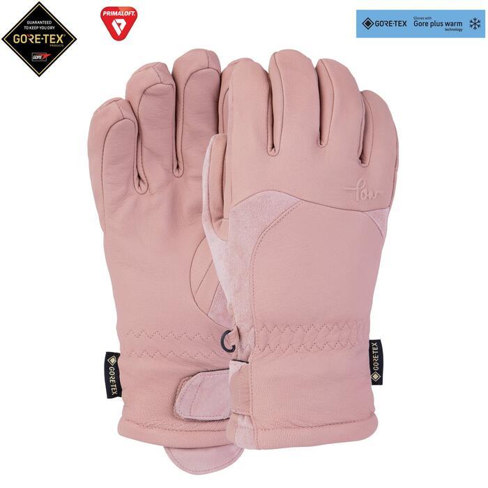 Pow Stealth GTX Wms Glove + Warm - Misty Rose