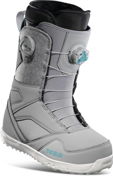 ThirtyTwo STW Double Boa Wmns Snowboard Boot - Grey