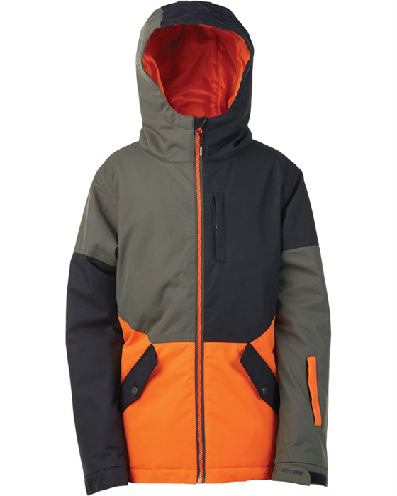 Elude Taylor Kids Jacket Forest Night