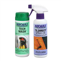Nikwax Tech Wash + Direct Spray-on