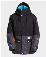 Billabong Fifty 50 Boys Jacket - Black Caviar
