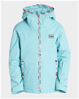 Billabong Sula Girls Jacket - Nile Blue
