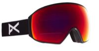 Anon M4 Toric Goggle+ Bonus Lens+ MFI® Face Mask - Black/Red