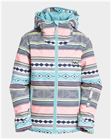 Billabong Sula Girls Jacket - Aztec Blue