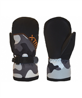 XTM Zoom Kids Mitt - Snow Camo