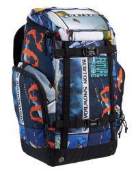 Burton Booter Pack 40L Backpack - Catalog Collage Print