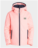 Billabong Sula Girls Jacket - Peach