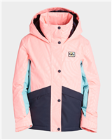 Billabong Kayla Girls Jacket - Peach
