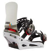 Burton Cartel X Snowboard Binding - Wht/Blk/Multi
