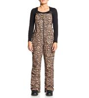 DC Collective Softshell Wmns Bib Pant - Leopard Fade