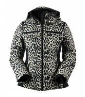 Obermeyer Devon Down Wmns Ski Jacket - Leopard