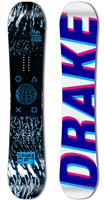 Drake DF3 Snowboard - 153cm