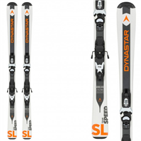Dynastar Team Speed Ski White + Kid-X 4 Binding