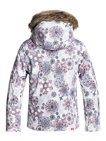 Roxy American Pie Kids Jacket - White/Snowflake