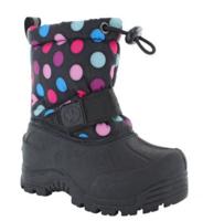 Northside Frosty Kids Snow Boot - Pink/Blue