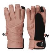 Rojo Leather Wmns Glove - Misty Rose