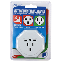 Jackson Travel Adaptors