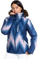 Roxy Jet Ski Premium Wmns Jacket - Medieval Blue Chevron