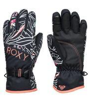 Roxy Jetty Kids Glove - True Black Outlines