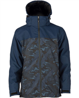 Elude Journey Jacket Midnight Camo