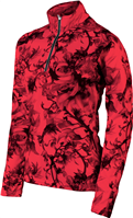 Karbon Shift 1/4 Zip Wmns Pullover - Print