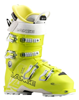 Lange XT 110 L.V FREETOUR Wmns Ski Boot - Lemon