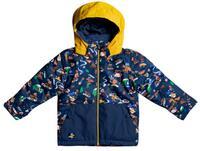 Quiksilver Little Mission Kids Jacket - Insignia Blue Snow Aloha
