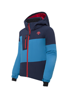 Descente Maddox Kids Ski Jacket - Aqua Blue