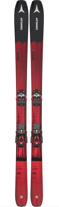 Atomic N Maverick 95 Ti Ski + N Warden 13 MNC Binding B