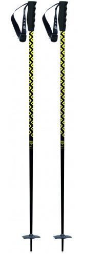 Black Crows Meta Ski Pole - Black/Yellow