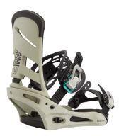 Burton Mission Snowboard Binding - Gray/Green